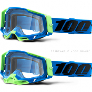 100% Racecraft 2 Freemont Clear Lens Goggles Image 3
