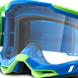 100% Racecraft 2 Freemont Clear Lens Goggles Image 4