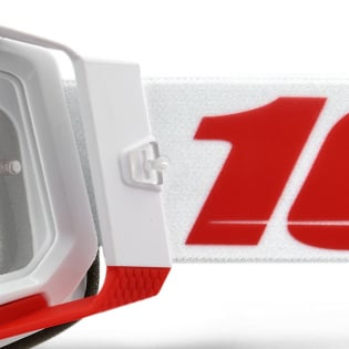 100% Racecraft 2 St-Kith Clear Lens Goggles Image 2