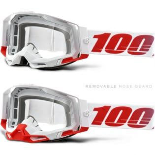 100% Racecraft 2 St-Kith Clear Lens Goggles Image 3