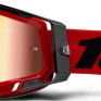 100% Racecraft 2 Red Mirror Lens Goggles