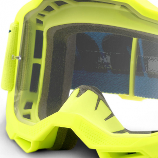 100% Accuri 2 OTG Yellow Clear Lens Goggles Image 2