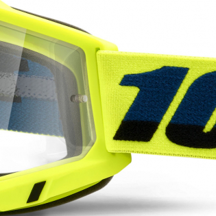 100% Accuri 2 OTG Yellow Clear Lens Goggles Image 4
