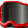 100% Accuri 2 Red Smoke Lens Sand Goggles