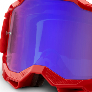 100% Accuri 2 Kids Red Blue Mirror Lens Goggles Image 2