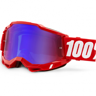 100% Accuri 2 Kids Red Blue Mirror Lens Goggles Image 3