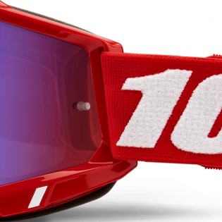 100% Accuri 2 Kids Red Blue Mirror Lens Goggles Image 4