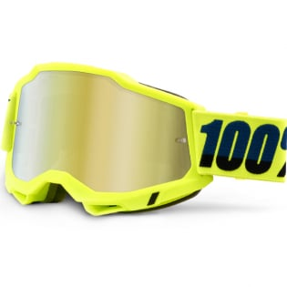 100% Accuri 2 Kids Yellow Gold Mirror Lens Goggles Image 3