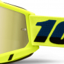 100% Accuri 2 Kids Yellow Gold Mirror Lens Goggles