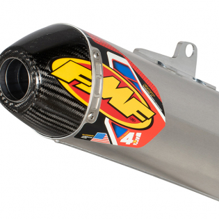 FMF Factory 4.1 Stainless Dual Slip On Silencers Honda CRF Image 3