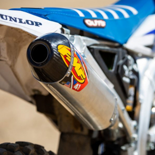 FMF Factory 4.1 Stainless Dual Slip On Silencers Honda CRF Image 4
