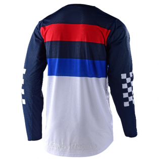 Troy Lee Designs GP Air Continental Navy Blue Jersey Image 3