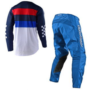 Troy Lee Designs GP Air Continental Navy Blue Jersey Image 4