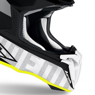 Airoh Twist 2.0 Tech Yellow Matt Helmet Image 3