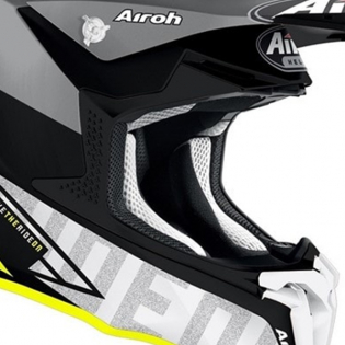 Airoh Twist 2.0 Tech Yellow Matt Helmet Image 4