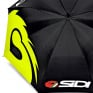 Sidi Motocross Umbrella - Black White Fluo