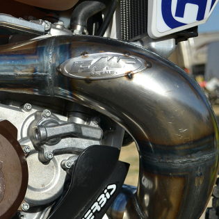 FMF 2 Stroke Factory Fatty Front Pipe Yamaha YZ Image 2