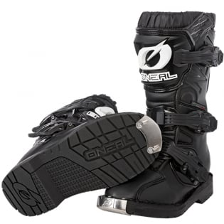 ONeal Kids Rider Pro Black Boots Image 2