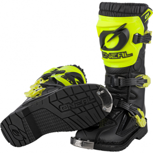 ONeal Kids Rider Pro Neon Yellow Boots Image 2