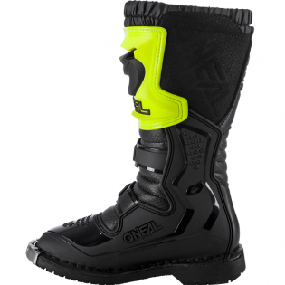 ONeal Kids Rider Pro Neon Yellow Boots Image 3