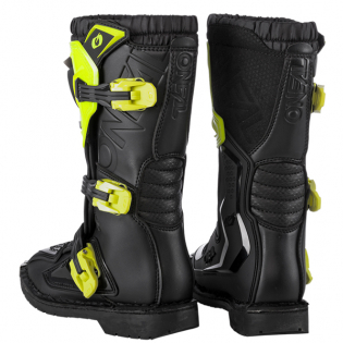 ONeal Kids Rider Pro Neon Yellow Boots Image 4