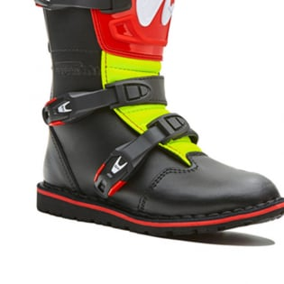 Forma Kids Rock Black Red Fluo Yellow Trials Boots Image 3