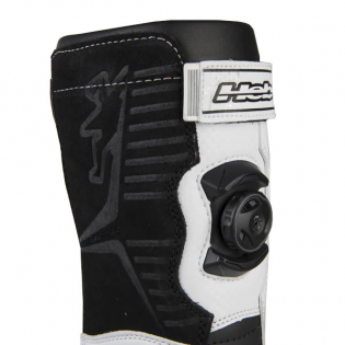 Hebo Tech Comp White Trials Boots Image 4