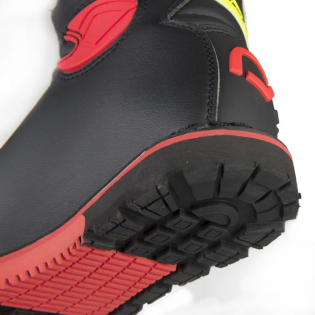Hebo Tech 2.0 Micro Black Lime Trials Boots Image 4