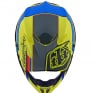 Troy Lee Designs SE4 Composite Helmet - Speed Yellow Grey