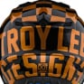 Troy Lee Designs SE4 Checker Black Gold Polyacrylite Helmet