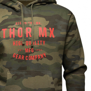 Thor Crafted Camo Pullover Hoodie Image 2