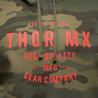 Thor Crafted Camo Pullover Hoodie Image 4