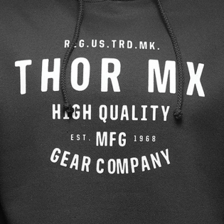 Thor Crafted Black Pullover Hoodie Image 4