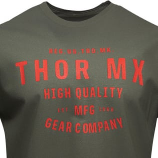 Thor Crafted Green T Shirt Image 2