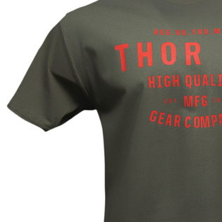 Thor Crafted Green T Shirt Image 4