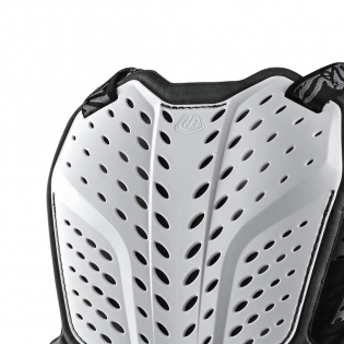 Troy Lee Designs Rock Fight White Chest Protector Image 3