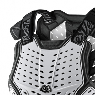 Troy Lee Designs Rock Fight White Chest Protector Image 4