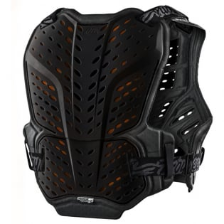 Troy Lee Designs Rock Fight CE Black Chest Protector Image 2