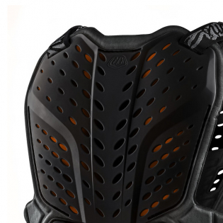 Troy Lee Designs Rock Fight CE Black Chest Protector Image 3