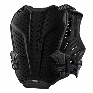 Troy Lee Designs Kids Rock Fight Black Chest Protector Image 2