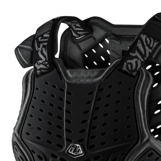 Troy Lee Designs Kids Rock Fight Black Chest Protector Image 3