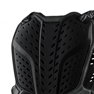 Troy Lee Designs Kids Rock Fight Black Chest Protector Image 4