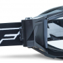 100% FMF Powerbomb Film System Rocket Black Clear Lens Goggles