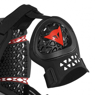 Dainese MX1 Roost Guard Black Chest Protector Image 2