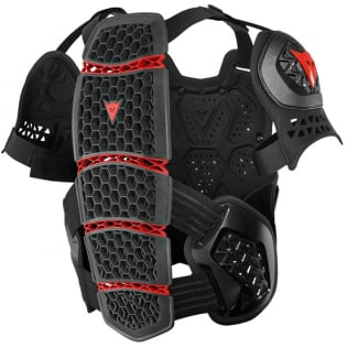 Dainese MX1 Roost Guard Black Chest Protector Image 3