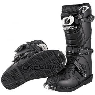 ONeal Kids Rider Black Boots Image 3