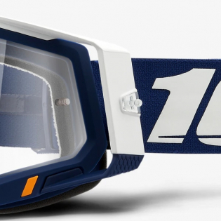 100% Racecraft 2 Concordia Clear Lens Goggles Image 2