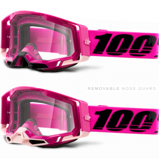 100% Racecraft 2 Maho Clear Lens Goggles Image 3