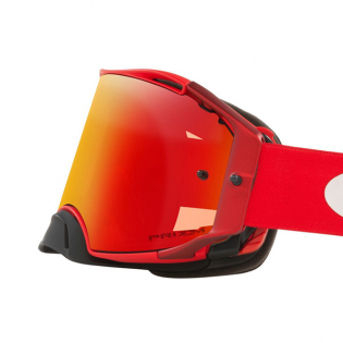Oakley Airbrake Moto Red Clear Goggles Image 2