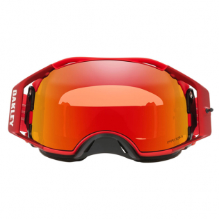 Oakley Airbrake Moto Red Clear Goggles Image 3